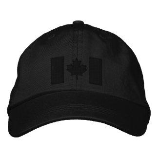 Broderie canadienne de drapeau casquette brodée