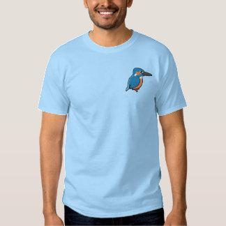 Broderie commune de martin-pêcheur  t-shirt brodé