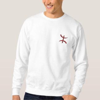 """broderie de """"aZA"""" de T-shirt Sweatshirt"""