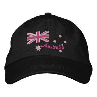 Broderie Girly australienne de drapeau Casquette Brodée