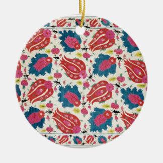 Broderie, turc (textile) ornement rond en céramique