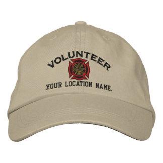 Broderie volontaire personnalisée de casquette brodée