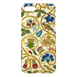 Broderies-Goldwork élisabéthaines de remous Coque iPhone 7
