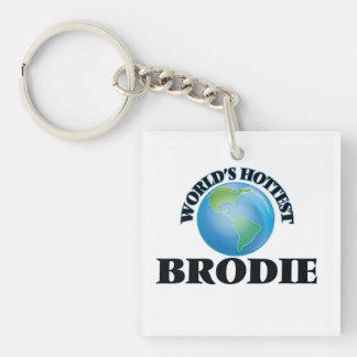Brodie le plus chaud du monde porte-clef