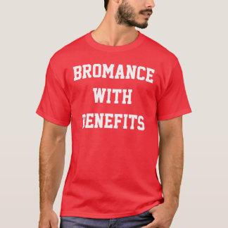 Bromance avec la chemise de rouge d'avantages t-shirt