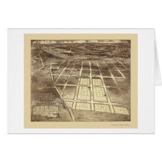 Brookland, carte panoramique de C.C - 1895