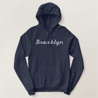 Brooklyn a brodé le sweatshirt vintage