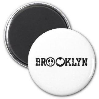 Brooklyn Magnet Rond 8 Cm