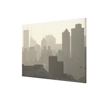 Brouillard de ville toiles