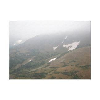 Brouillard Rolls dedans Toile