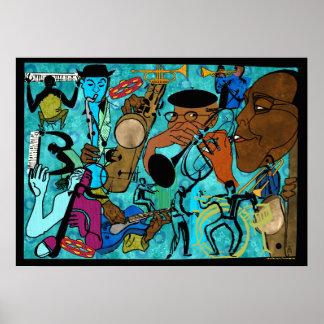 Brouilleurs de jazz poster