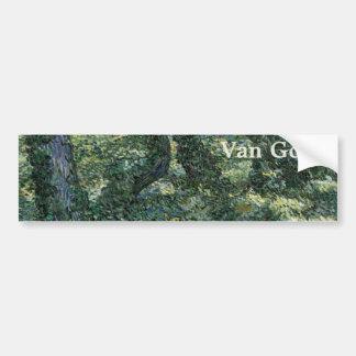 Broussaille par Vincent van Gogh Autocollants Pour Voiture