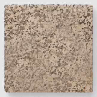 Brown a marbré les dessous de verre en pierre dessous-de-verre en pierre