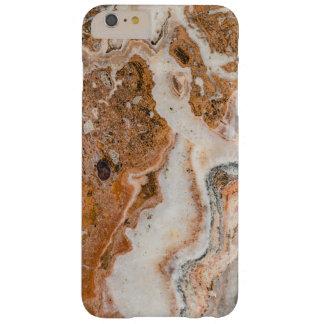 Brown et remous de marbre blancs coque iPhone 6 plus barely there