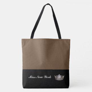 """""""brownie"""" de Fourre-tout de couronne argentée de Tote Bag"""