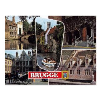 Bruges - carte postale