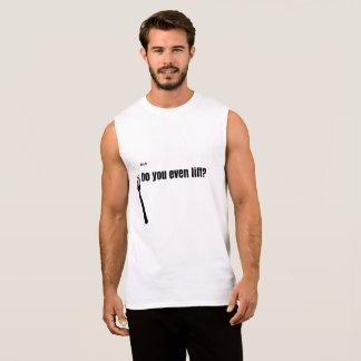Bruh, vous soulevez-vous même ? Ultra coton sans T-shirt Sans Manches
