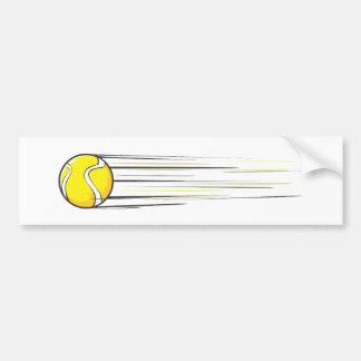 Bruissement de balle de tennis autocollant de voiture
