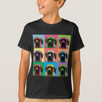 Bruit-Art anglais de mastiff T-shirt
