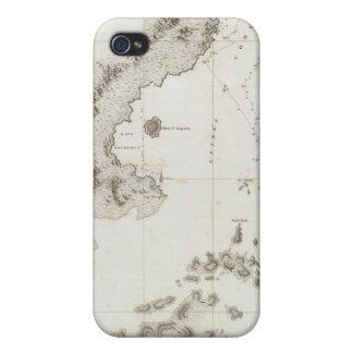 Bruit de Blying à la péninsule de l'Alaska Coque iPhone 4