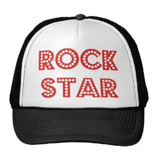 Bruit, produits de vedette du rock et conceptions casquette de camionneur