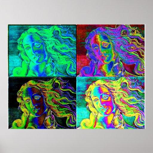 Bruit Vénus par la fournisseuse de Clara Affiche