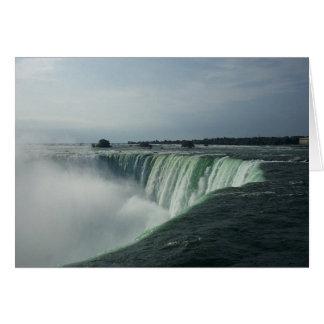 Brume au-dessus de Niagara Cartes