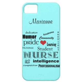 Brume de /Aqua de Fierté-Attributs d'élève-infirmi Coque iPhone 5 Case-Mate