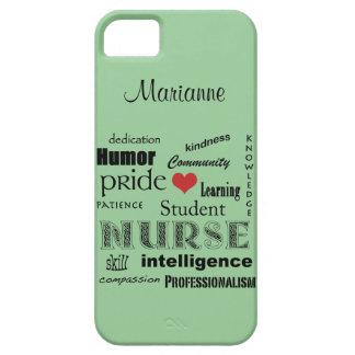 Brume de /Green de Fierté-Attributs Coque iPhone 5 Case-Mate
