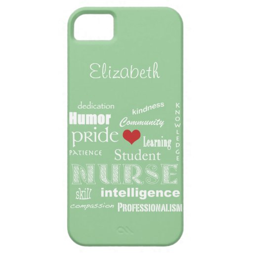 Brume de /Green de Fierté-Attributs d'élève-infirm Coque iPhone 5 Case-Mate