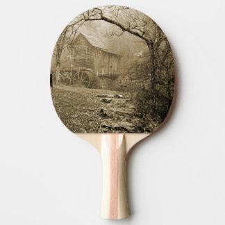 Brume de matin raquette de ping pong