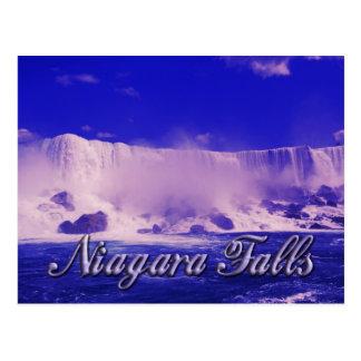 Brume froide d'hiver aux chutes du Niagara Cartes Postales