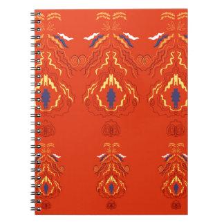 Brun de luxe d'édition de mandalas carnet