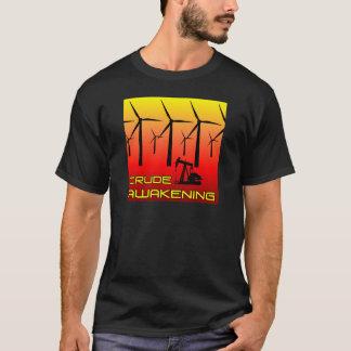 Brut se réveillant - hommes foncés t-shirt