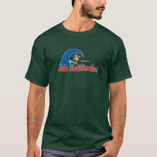 BT234 - Mele Kalikimaka surfant Père Noël T-shirt