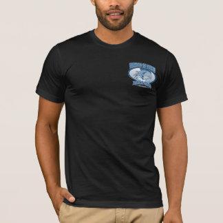BT255 - Wahoo dans la barre et le gril d'Oahu T-shirt