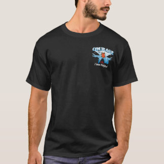 BT266 - Courage des poissons de Freddie T-shirt