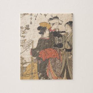 Bu avec des fleurs - Japon Puzzle
