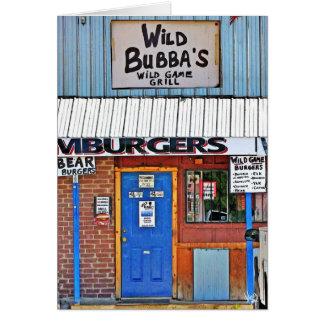 Bubba sauvage dans Elroy, TX Cartes De Vœux