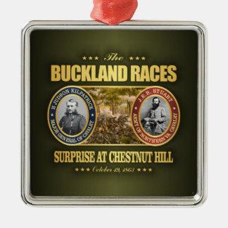 Buckland emballe (FH2) Ornement Carré Argenté