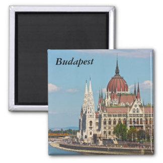 Budapest, le bâtiment du Parlement, Budapest Magnet Carré
