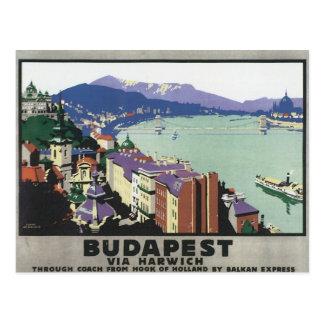 Budapest vintage Hongrie Carte Postale
