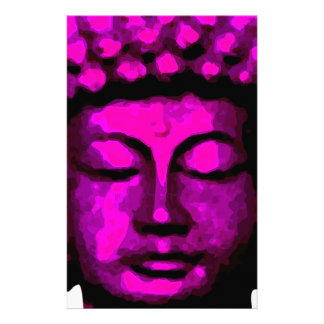 Buddha tête papier à lettre personnalisable