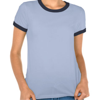 Bueller fort, sonnerie t des femmes, bleu et t-shirts