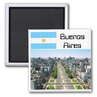 Buenos Aires Magnet Carré