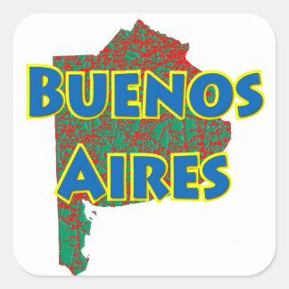Buenos Aires Sticker Carré