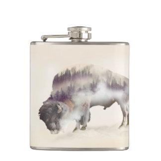 Buffle-double buffle-paysage exposition-américain flasques