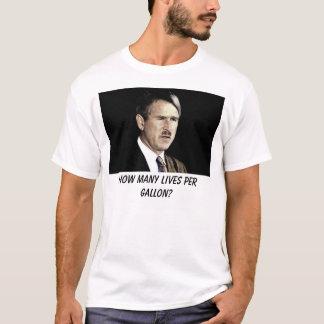 buisson, combien de vies par gallon ? t-shirt