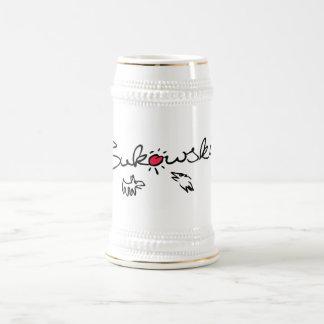 Bukowski - bière Stein Chope À Bière