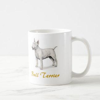 Bull-terrier, amoureux des chiens en abondance ! mug blanc